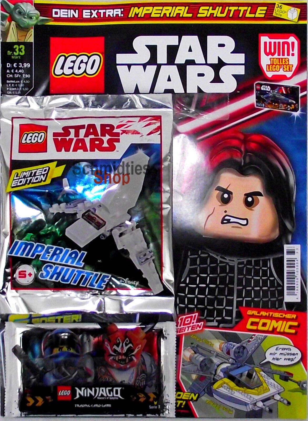 Zubehör Nr.33//18 März Limited Edition LEGO® StarWars Magazin inkl