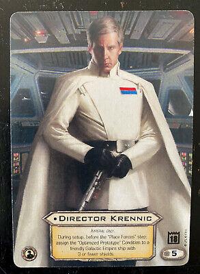 Star Wars Destiny: Director Krennic Organized Play Promo Card