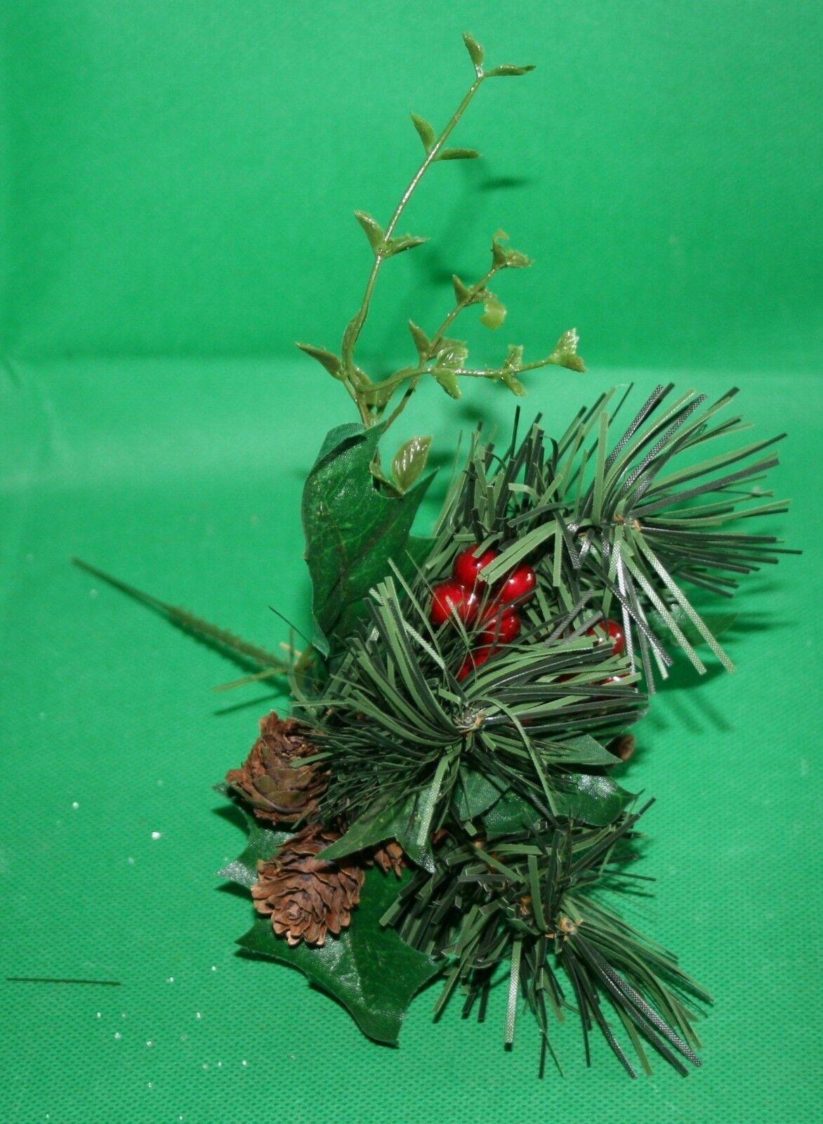 Dekoration Basteln Weihnachtspick 21 Cm Verschiedene