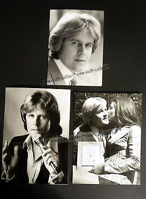 HOWARD CARPENDALE * 3 PRESSEFOTOS div. Grösse PHOTOS LOT TV 70er +1980 MUSIK