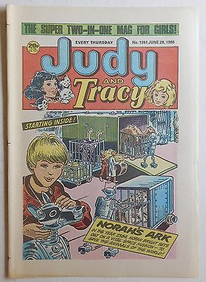 JUDY & TRACY Comic #1381 - 28th June 1986