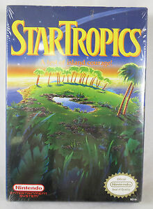 Nintendo NES Star Tropics Cartridge Sealed NEW
