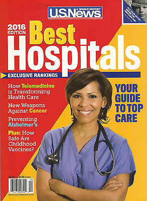 Us News Best Hospitals 2016 Rankings Top Care Cancer Preventing Alzheimers Cpics