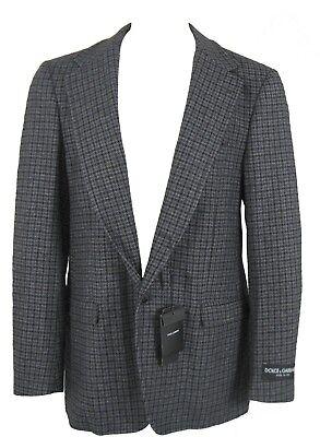 NEW! Dolce & Gabbana Pure Cashmere Sportcoat (Blazer) 42 e 54 *Unique, Slim Fit*