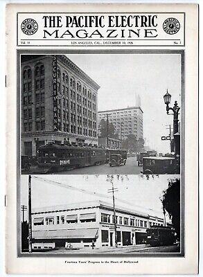 Pacific Electric Magazine PE Interurban Employee House Publication Dec 10, 1926
