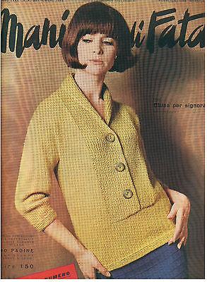 MANI DI FATA SETTEMBRE 1965 ANNO XXXX N. 9 LAVORI FEMMINILI TAGLIO CUCITO RICAMO