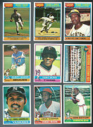 1976 Topps Star Lot