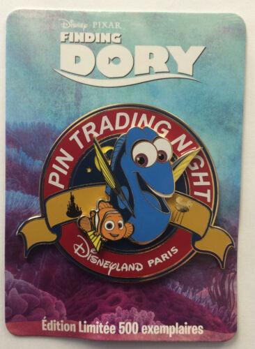 Disneyland Paris 2016 Pixar FINDING DORY & Nemo Mini Jumbo Surprise Pin LE 500