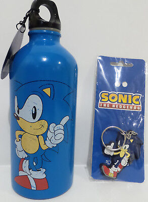 SONIC THE HEDGEHOG : SONIC THE HEDGEHOG KEY RING & DRINKS CONTAINER (TK)