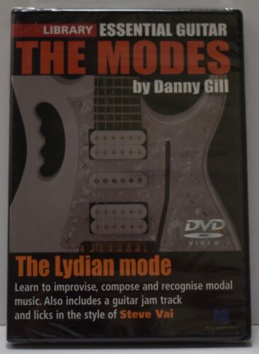 The Modes, The Lydian Mode, Danny Gill DVD