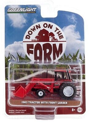 1:64 GreenLight *DOWN ON THE FARM 4* International 3088 Tractor w/LOADER NIP!