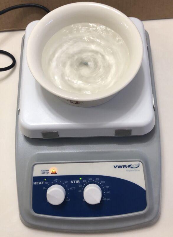 """VWR VMS C-19 S1 10X10"""" Hot Plate & Magnetic Stirrer, Adjustable Direct AC Input"""