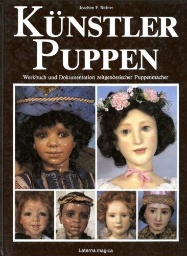 Contemporary German Doll Artists - Gunzel Himstedt Deval Etc. / Scarce Book