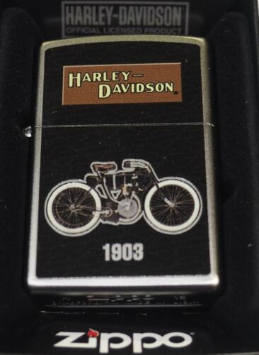 Special Edition Harley Davidson 1903 Motorcycle Zippo Lighter