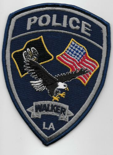 Walker Police State Louisiana LA Colorful NEW