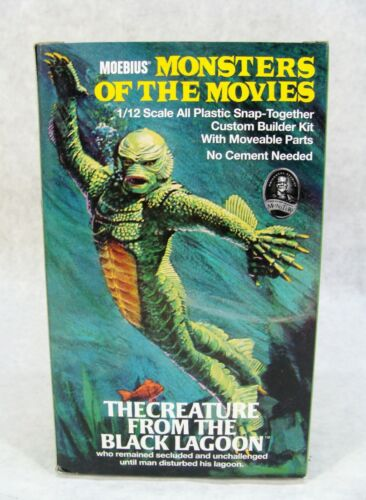 MOEBIUS MOTM THE CREATURE FROM THE BLACK LAGOON UNIVERSAL MONSTERS MODEL KIT NEW
