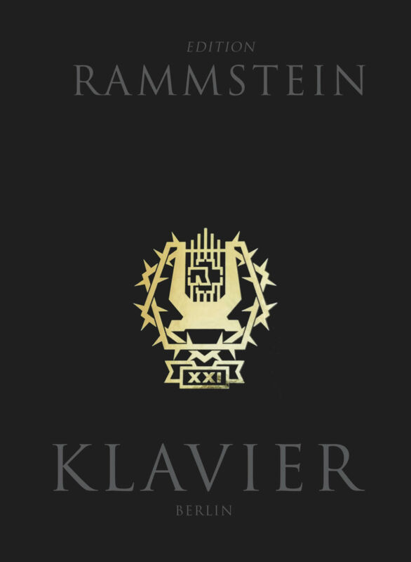 Rammstein Klavier Piano Vocal Sheet Music Lyrics 13 Songs Hardcover Book CD Pack