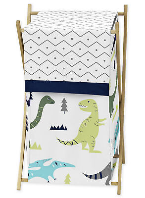 Sweet Jojo Clothes Laundry Hamper For Blue And Green Mod Din