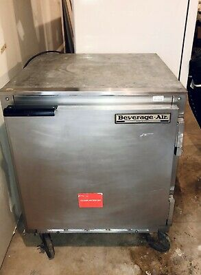 Beverage Air Refrigerator Lowboy 1 Door Undercounter Fridge Used Works Great