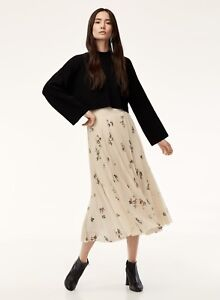 Aritzia Wilfred Terry Skirt