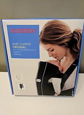NEW Baby Bjorn Baby Original Carrier Black