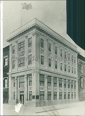 Utah State National Bank Salt Lake City Original News Service Photo