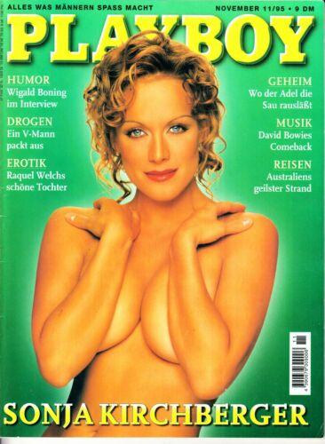Zeitschrift Playboy 11/1995 Sonja Kirchberger