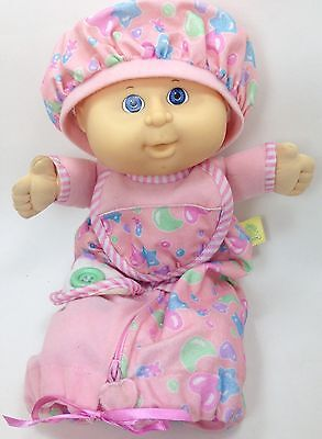 (Vtg Cabbage Patch Kids Toddler Collection Love N Care Baby Doll 1992 Hasbro Pink)