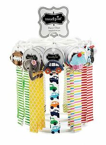Mud-Pie-Baby-Boy-or-Girl-Felt-Multi-Color-Ribbon-Pacy-Pacifier-Clips-178512
