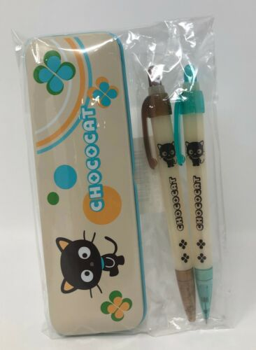 Sanrio Chococat Writing Set with Tin Case ~ 2003