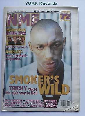 NEW MUSICAL EXPRESS NME - October 28 1995 - TRICKY / MENSWEAR / - Express Menswear