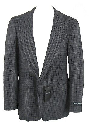 NEW! Dolce & Gabbana Pure Cashmere Sportcoat (Blazer) 40 e 52 *Unique, Slim Fit*