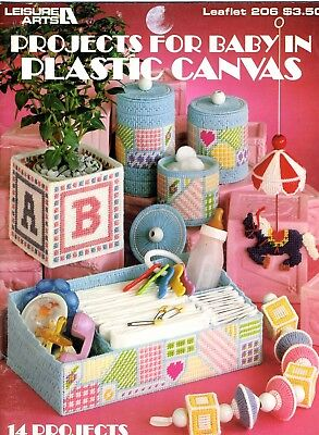 Leisure Arts Projects For Baby in Plastic Canvas - Art Projects For Babies