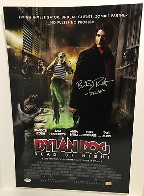 BRANDON ROUTH as DYLAN DOG SIGNED 16X24 PHOTO POSTER  PSA DNA AD31354