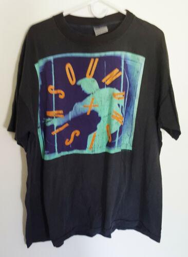 DAVID BOWIE Sound + Vision T-Shirt Vintage 1990 T-Shirt S/S XL Brockum