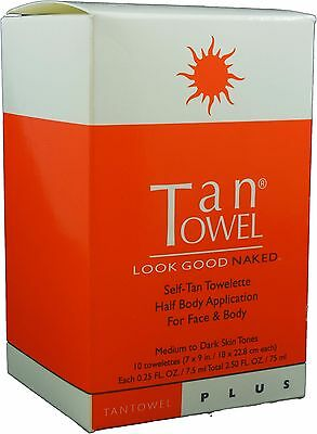 TanTowel Half Body Plus 10 Pack