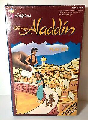 Disney's Aladdin Colorforms Play Set 1990's