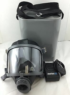 Scottsea Domestic Preparedness Gas Mask W St Powered Voice Amp Hard Case