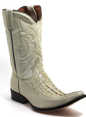 120 Cowboystiefel Westernstiefel Texas Boots Western Rancho Krokodil 41 - Krokodil Cowboy Stiefel