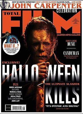 Total Film Magazine  August 2021: HALLOWEEN KILLS Timothee Chalamet HUGH JACKMAN