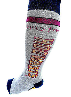 Harry Potter Hogwarts Damen Kniestrümpfe Knee High Socken Cosplay 37-42 Primark ()