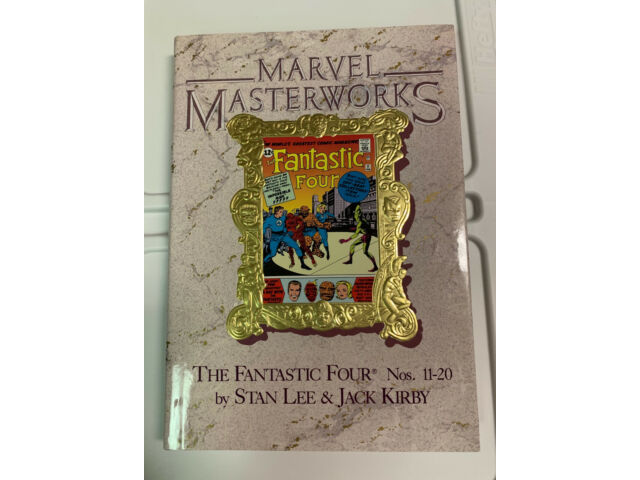 MARVEL MASTERWORKS 6 FANTASTIC FOUR NM SIGNED DICK AYERS IMPOSSIBLE MAN