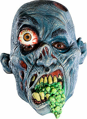 Gross Monster Mask Mutant Costume Vomiting Mouth Vomit Scary Creepy Zombie Eye - Scary Zombies Costumes