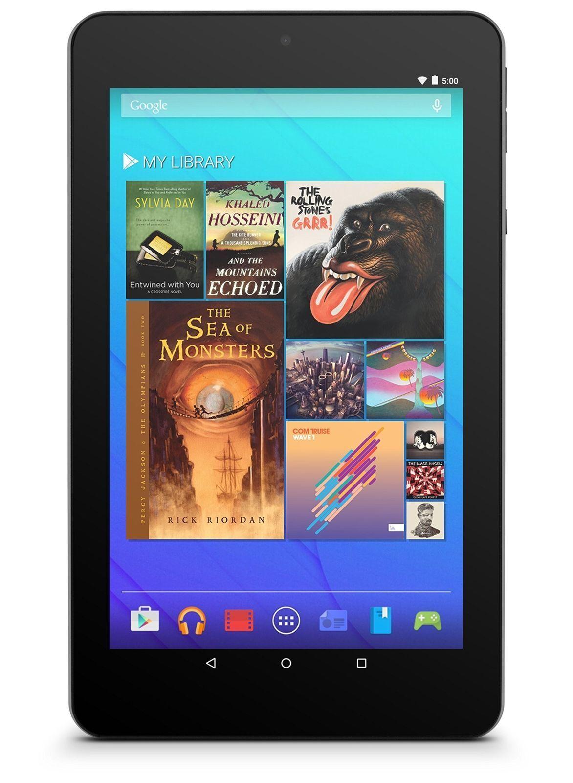 """Ematic 7"""" HD Quad-Core Tablet Android - Black (EGQ367BD)™"""
