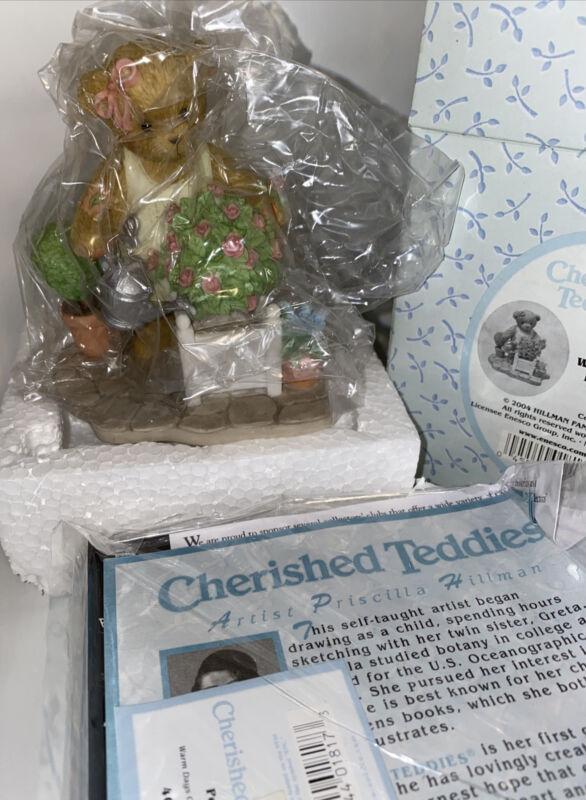 Cherished Teddies 4001524 Poppy WARM DAYS GROW HAPPY HEARTS Figurine NEW IN BOX