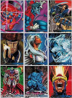 1995 MARVEL FLAIR ANNUAL SERIES II 2 FLEER COMPLETE SET #1-150 X-Men