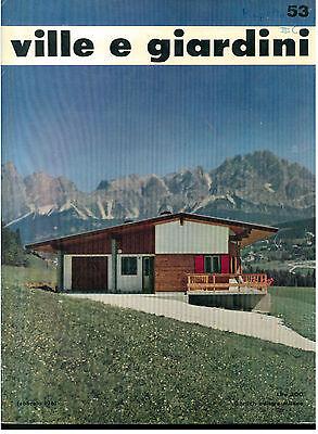 VILLE E GIARDINI 53 GORLICH FEBBRAIO 1961 RIVISTA ARCHITETTURA