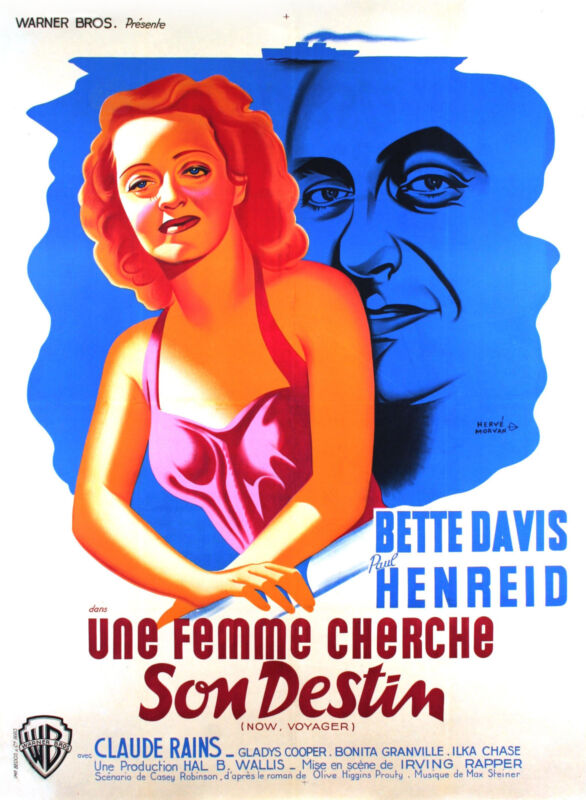 NOW VOYAGER - ORIGINAL FRENCH POSTER
