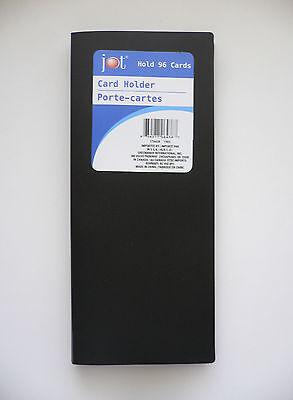 Black Vinyl Businesscredit Card Holders Organizers Bn