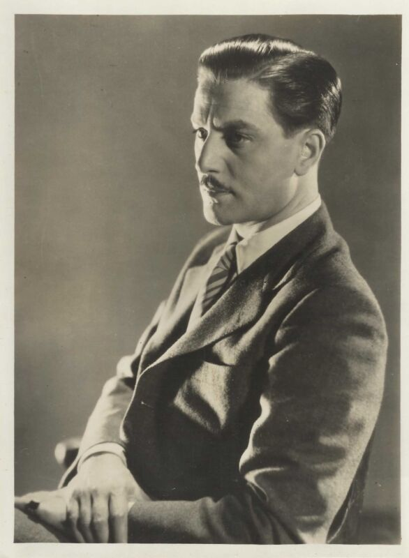 "ANTON WALBROOK in ""Regine"" Original Vintage Photograph 1935"